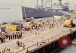 Image of American sailors San Francisco Bay California USA, 1968, second 6 stock footage video 65675067895
