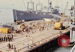 Image of American sailors San Francisco Bay California USA, 1968, second 7 stock footage video 65675067895