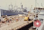 Image of American sailors San Francisco Bay California USA, 1968, second 8 stock footage video 65675067895