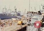 Image of American sailors San Francisco Bay California USA, 1968, second 9 stock footage video 65675067895