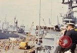 Image of American sailors San Francisco Bay California USA, 1968, second 10 stock footage video 65675067895