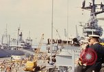 Image of American sailors San Francisco Bay California USA, 1968, second 11 stock footage video 65675067895