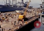 Image of American sailors San Francisco Bay California USA, 1968, second 12 stock footage video 65675067895