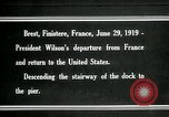 Image of Thomas Woodrow Wilson Brest France, 1936, second 1 stock footage video 65675067918
