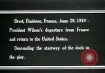 Image of Thomas Woodrow Wilson Brest France, 1936, second 2 stock footage video 65675067918