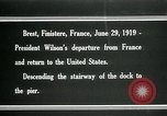 Image of Thomas Woodrow Wilson Brest France, 1936, second 6 stock footage video 65675067918