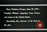 Image of Thomas Woodrow Wilson Brest France, 1936, second 7 stock footage video 65675067918
