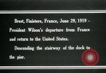 Image of Thomas Woodrow Wilson Brest France, 1936, second 8 stock footage video 65675067918