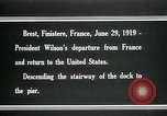 Image of Thomas Woodrow Wilson Brest France, 1936, second 10 stock footage video 65675067918