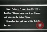Image of Thomas Woodrow Wilson Brest France, 1936, second 11 stock footage video 65675067918