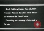 Image of Thomas Woodrow Wilson Brest France, 1936, second 12 stock footage video 65675067918