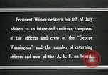 Image of Thomas Woodrow Wilson Atlantic Ocean, 1936, second 8 stock footage video 65675067919