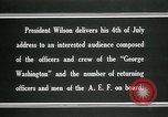 Image of Thomas Woodrow Wilson Atlantic Ocean, 1936, second 10 stock footage video 65675067919