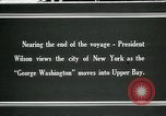 Image of Thomas Woodrow Wilson New York United States USA, 1936, second 1 stock footage video 65675067920