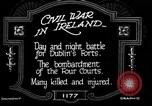 Image of Irish civil war Dublin Ireland, 1922, second 7 stock footage video 65675067967