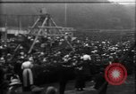 Image of a large outdoor fair United Kingdom, 1915, second 2 stock footage video 65675067969