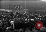 Image of a large outdoor fair United Kingdom, 1915, second 3 stock footage video 65675067969