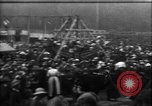 Image of a large outdoor fair United Kingdom, 1915, second 4 stock footage video 65675067969