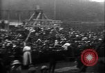 Image of a large outdoor fair United Kingdom, 1915, second 6 stock footage video 65675067969