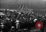 Image of a large outdoor fair United Kingdom, 1915, second 7 stock footage video 65675067969