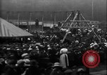 Image of a large outdoor fair United Kingdom, 1915, second 9 stock footage video 65675067969