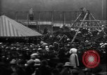 Image of a large outdoor fair United Kingdom, 1915, second 10 stock footage video 65675067969