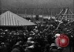 Image of a large outdoor fair United Kingdom, 1915, second 11 stock footage video 65675067969