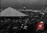 Image of a large outdoor fair United Kingdom, 1915, second 12 stock footage video 65675067969