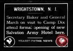 Image of Newton Diehl Baker Jr Wrightstown New Jersey USA, 1918, second 1 stock footage video 65675067977