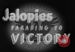 Image of Jalopies parade Decatur Illinois USA, 1943, second 5 stock footage video 65675067989