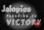 Image of Jalopies parade Decatur Illinois USA, 1943, second 7 stock footage video 65675067989