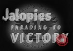 Image of Jalopies parade Decatur Illinois USA, 1943, second 8 stock footage video 65675067989