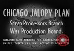 Image of Jalopies parade Decatur Illinois USA, 1943, second 10 stock footage video 65675067989