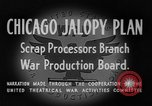 Image of Jalopies parade Decatur Illinois USA, 1943, second 11 stock footage video 65675067989