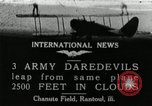 Image of air stunts Rantoul Illinois USA, 1921, second 1 stock footage video 65675068000