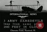 Image of air stunts Rantoul Illinois USA, 1921, second 3 stock footage video 65675068000