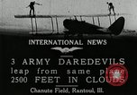 Image of air stunts Rantoul Illinois USA, 1921, second 4 stock footage video 65675068000