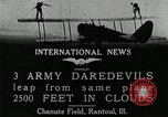 Image of air stunts Rantoul Illinois USA, 1921, second 6 stock footage video 65675068000