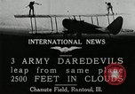 Image of air stunts Rantoul Illinois USA, 1921, second 7 stock footage video 65675068000