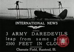 Image of air stunts Rantoul Illinois USA, 1921, second 9 stock footage video 65675068000