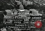 Image of aircraft in formation Washington DC USA, 1921, second 2 stock footage video 65675068001
