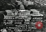 Image of aircraft in formation Washington DC USA, 1921, second 6 stock footage video 65675068001
