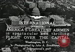 Image of aircraft in formation Washington DC USA, 1921, second 9 stock footage video 65675068001