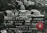 Image of aircraft in formation Washington DC USA, 1921, second 10 stock footage video 65675068001