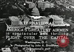 Image of aircraft in formation Washington DC USA, 1921, second 11 stock footage video 65675068001