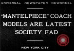 Image of replica of carriages New York United States USA, 1930, second 1 stock footage video 65675068043