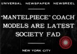 Image of replica of carriages New York United States USA, 1930, second 2 stock footage video 65675068043