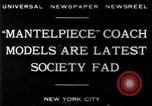Image of replica of carriages New York United States USA, 1930, second 3 stock footage video 65675068043