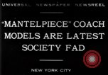 Image of replica of carriages New York United States USA, 1930, second 10 stock footage video 65675068043