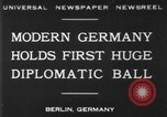 Image of ball dance Berlin Germany, 1930, second 1 stock footage video 65675068044